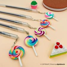 تصویر خودکار طرح آبنبات پیچی Lollipop
