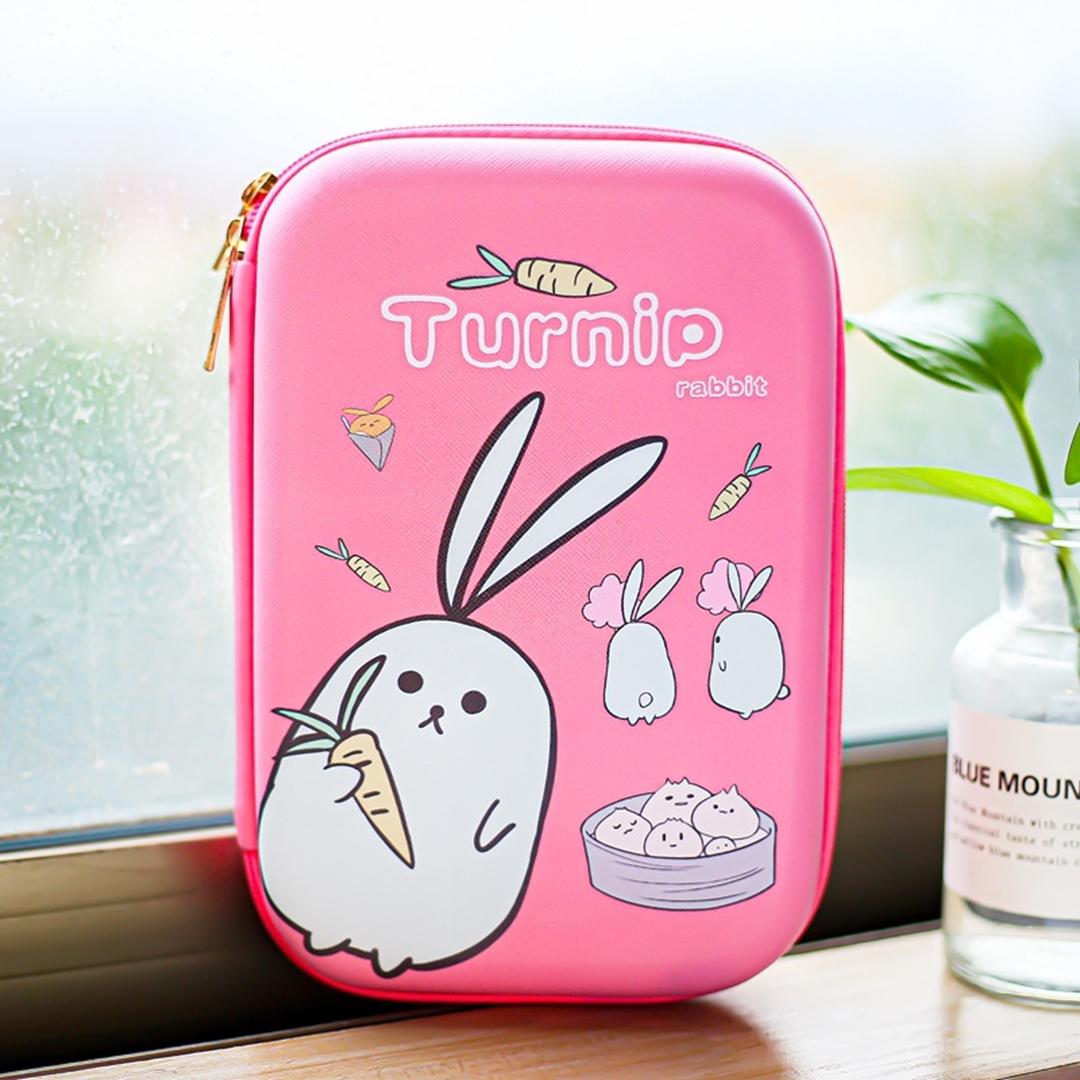 تصویر جامدادی کتابی Turnip مدل خرگوش