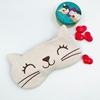تصویر چشم بند مخملی گربه 2