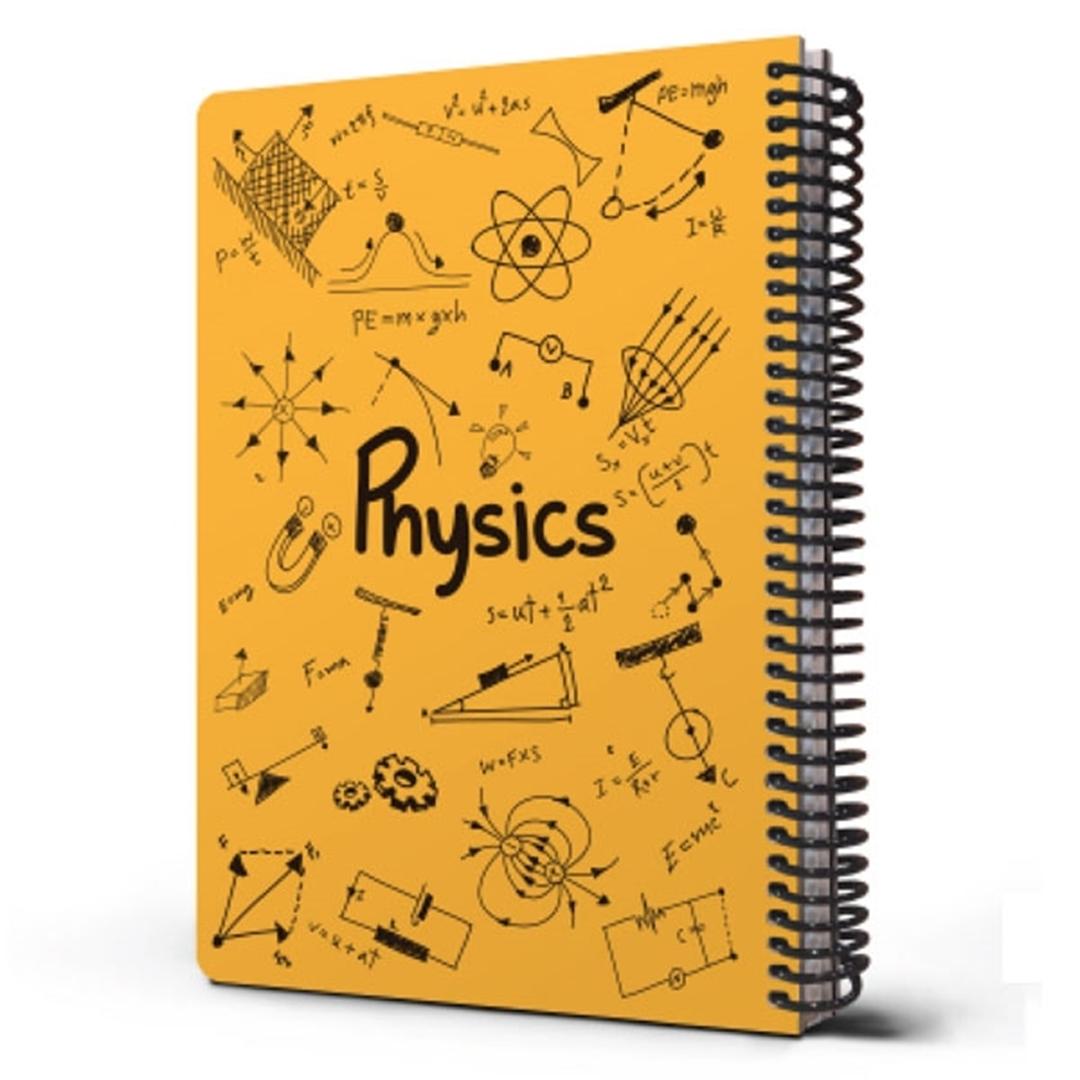 تصویر دفتر مشق دات نوت مدل Science درس فیزیک
