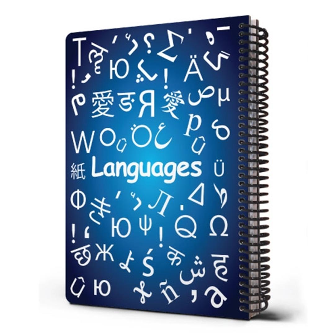 تصویر دفتر مشق دات نوت مدل Science درس زبان ها