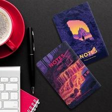 تصویر دفترچه یادداشت جیبی تاپیک مدل Notes ماجراجو