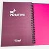 تصویر دفتر تاپیک طرح Be Positive