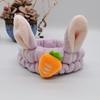 تصویر هدبند دخترانه هویج خرگوشی