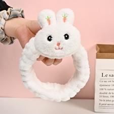 تصویر هدبند دخترانه خرگوش عروسکی