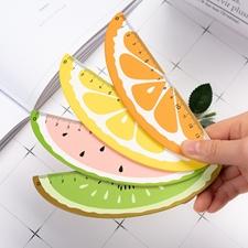 تصویر خط کش میوه ای