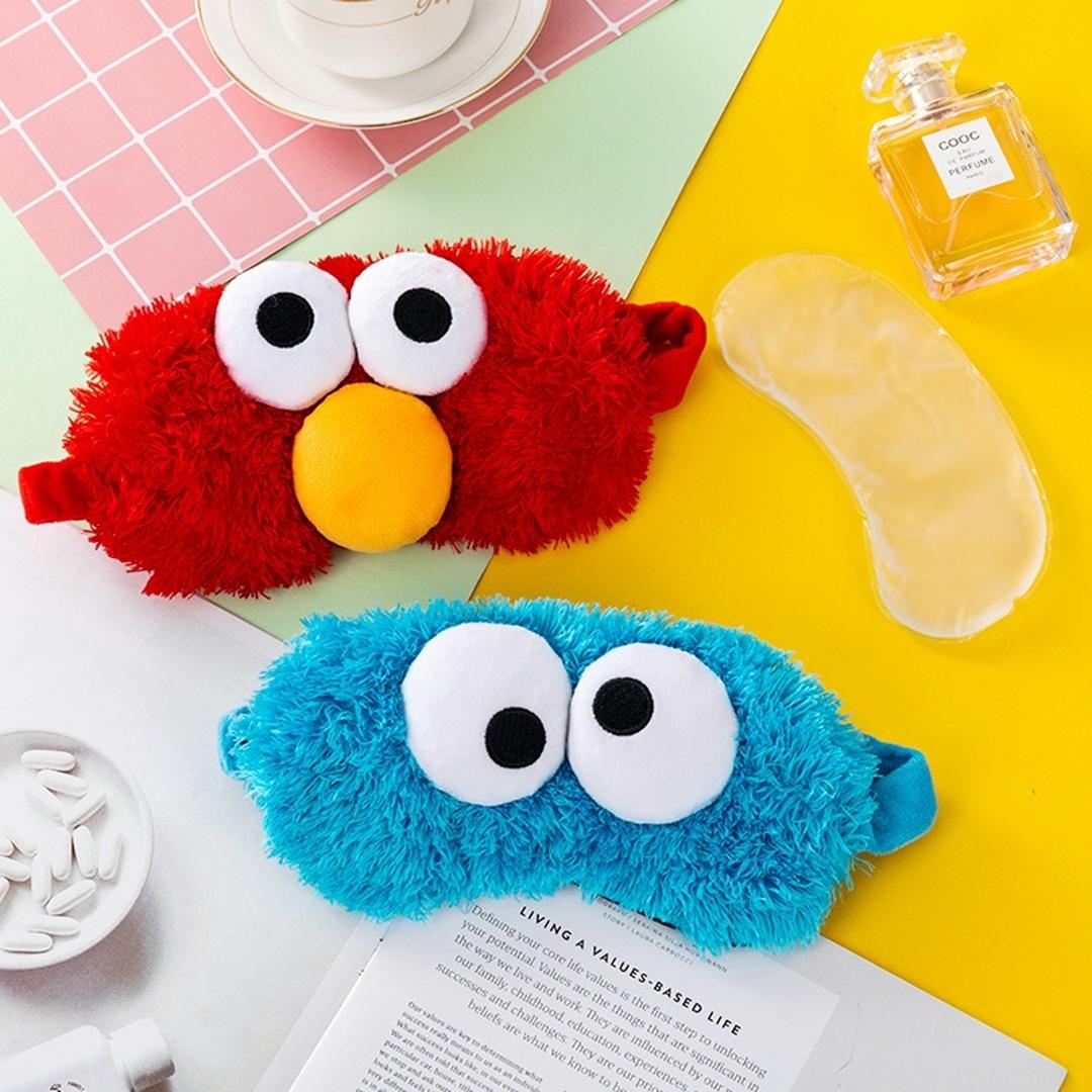 تصویر چشم بند Lannishi کمپرس دار مدل Elmo