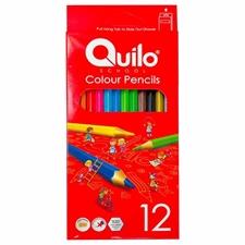 تصویر مداد رنگی کوییلو 12 رنگ مدل 634003